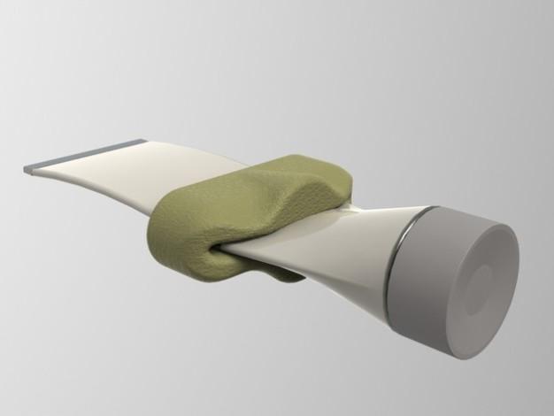 Presse tube dentifrice 3D